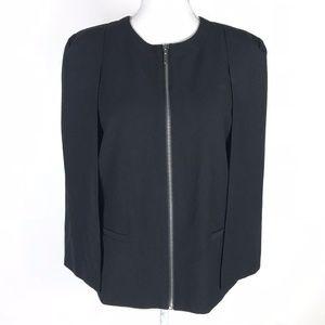 DREW Blazer Black Madeline Cape Jacket Full Zip